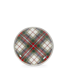 HP69S4 - Set of 4 Highland Plaid Sandwich Plates Product 1