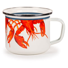 LS28 - Lobster Pattern - Grande Mug