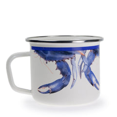 SE28S4 - Set of 4 Blue Crab Grande Mugs Product 1