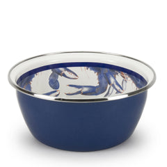 SE59S6 - Set of 6 Blue Crab Tasting Dishes Image 2