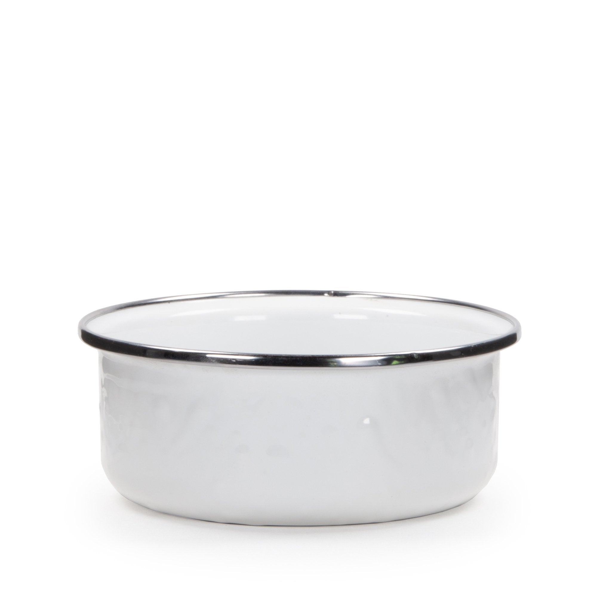 WW60 - Solid White Pattern - Soup Bowl