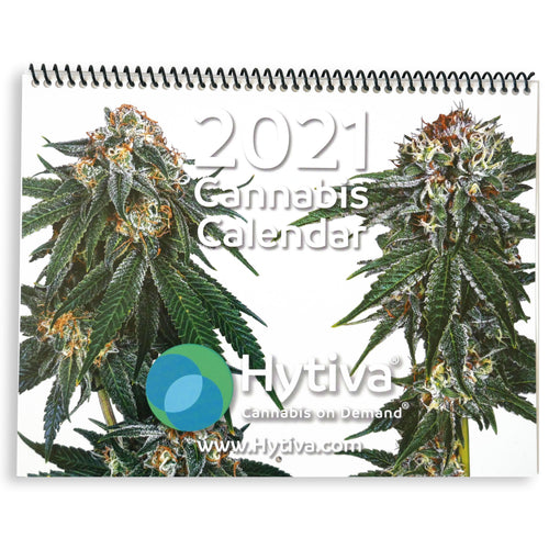 2021 Hytiva Cannabis on Demand Calendar