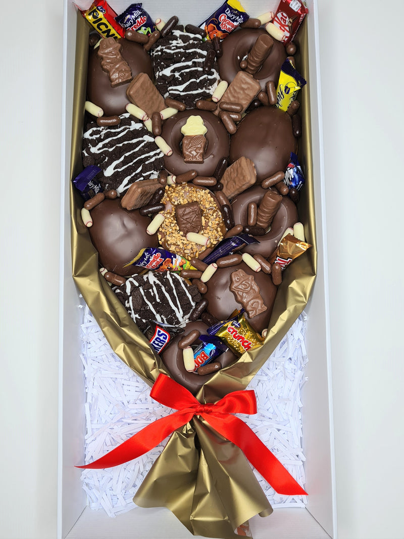NEW Double Choc Donut Bouquet
