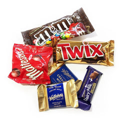 Extra Mini Chocolate Bars - Yummy Box