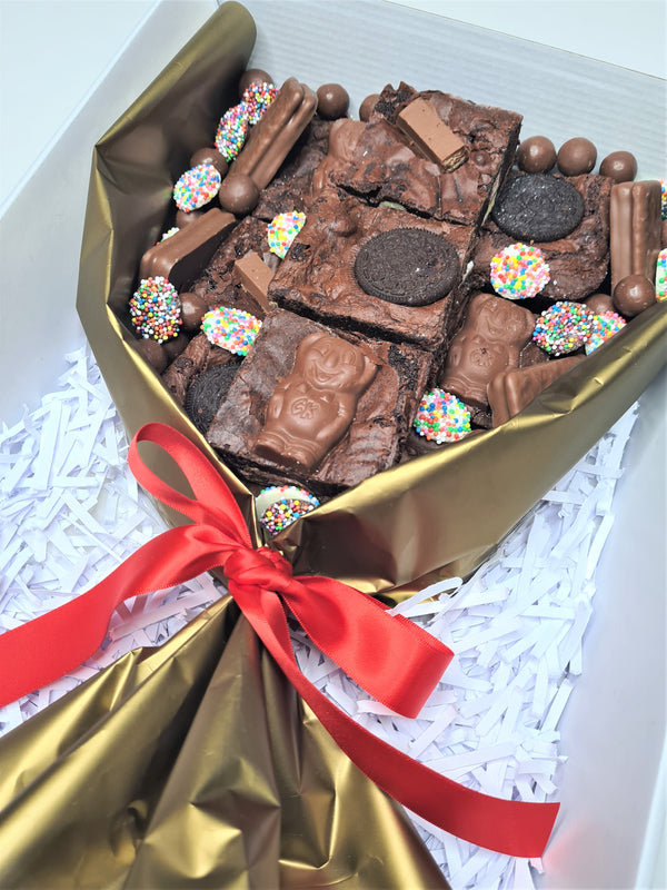 Chocolate Brownie Bouquet