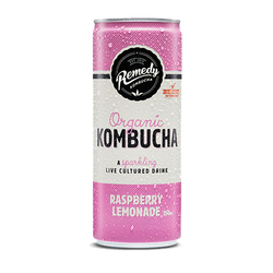 Kombucha Raspberry Lemonade (250ml) - Yummy Box