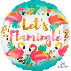 Let's Flamingle Balloon - Yummy Box