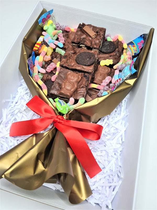 Lolly Brownie Bouquet