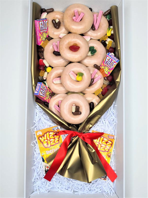 Throwback Donut Bouquet