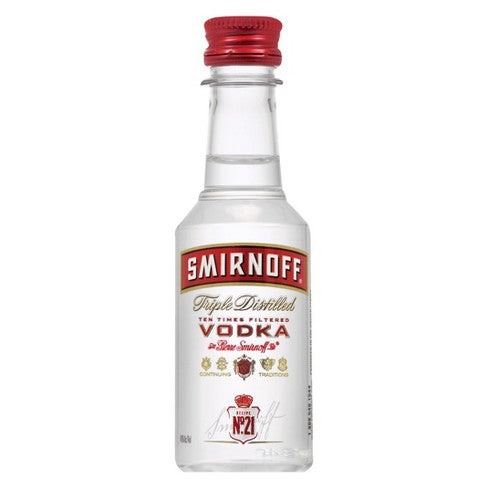 Smirnoff Vodka (50ml) - Yummy Box