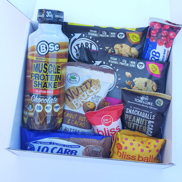 Gym Junkies (Protein Box) - Yummy Box