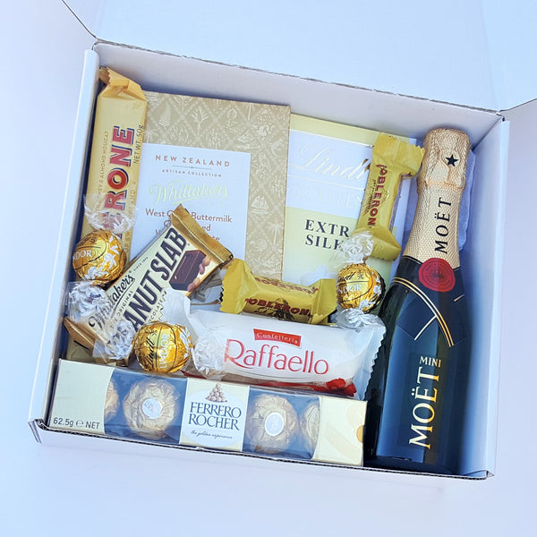 Gold & White Box - Yummy Box