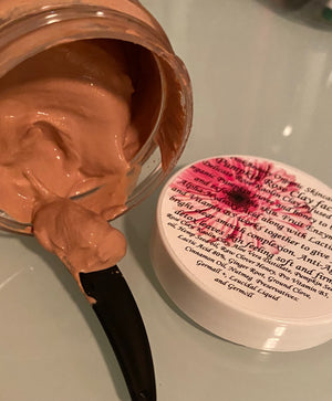Pumpkin Rose Clay Facial