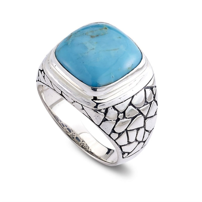 Men's Sleeping Beauty Turquoise Ring