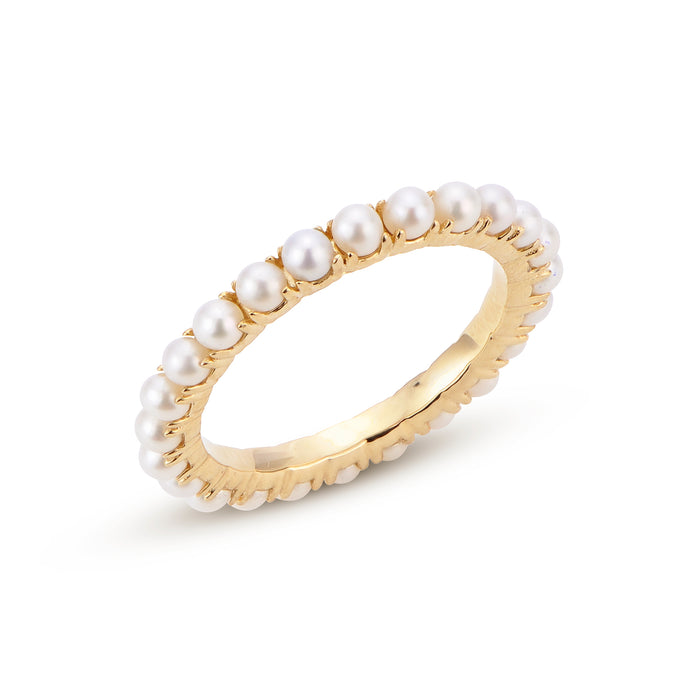 Seed Pearl Eternity band