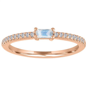 My Story Moonstone Stackable Ring