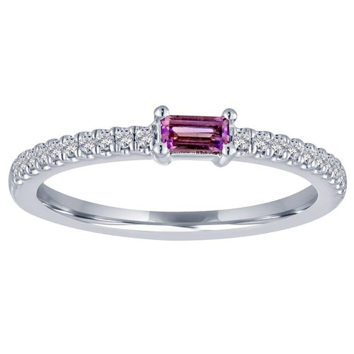 My Story Amethyst Stackable Ring