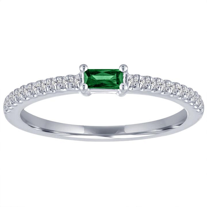 My Story Emerald Stackable Ring
