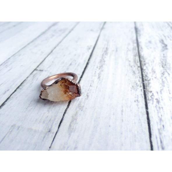 Hawkhouse Citrine Ring