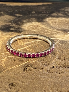 Estate Ruby Stackable Band
