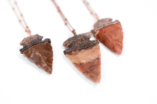 Load image into Gallery viewer, Hawkhouse Arrowhead Necklace