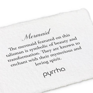 Pyrrha Mermaid Talisman