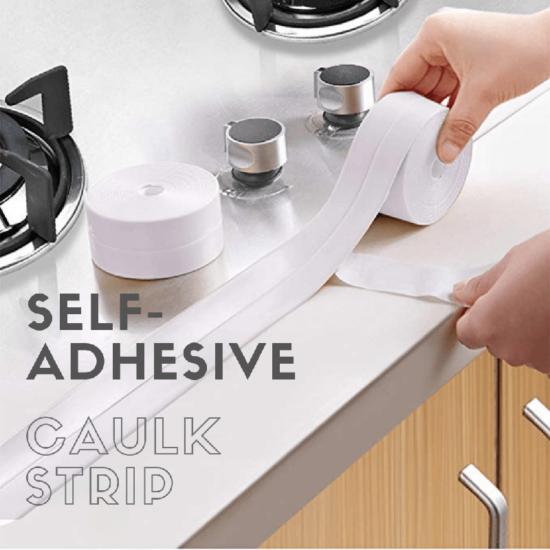 Self-Adhesive Caulk Strip