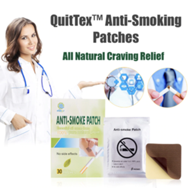 QuitTex™ ALL Natural Quit Smoking Patches