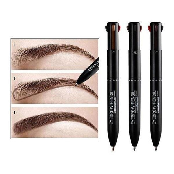 4 In 1 Multifunctional Automatic Eyebrow Pencil