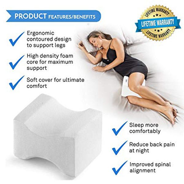 Knee Pillow for Back Pain Sciatica Relief