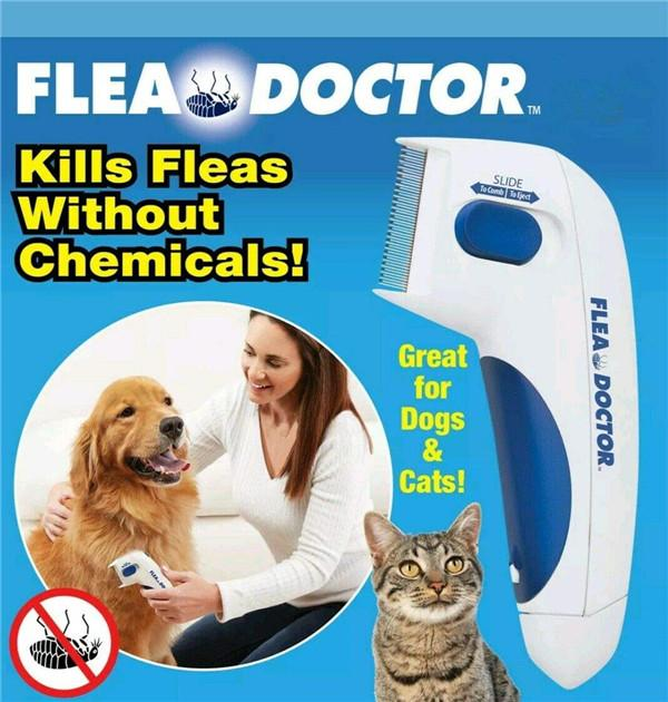 Electric Head Lice Comb for Pets