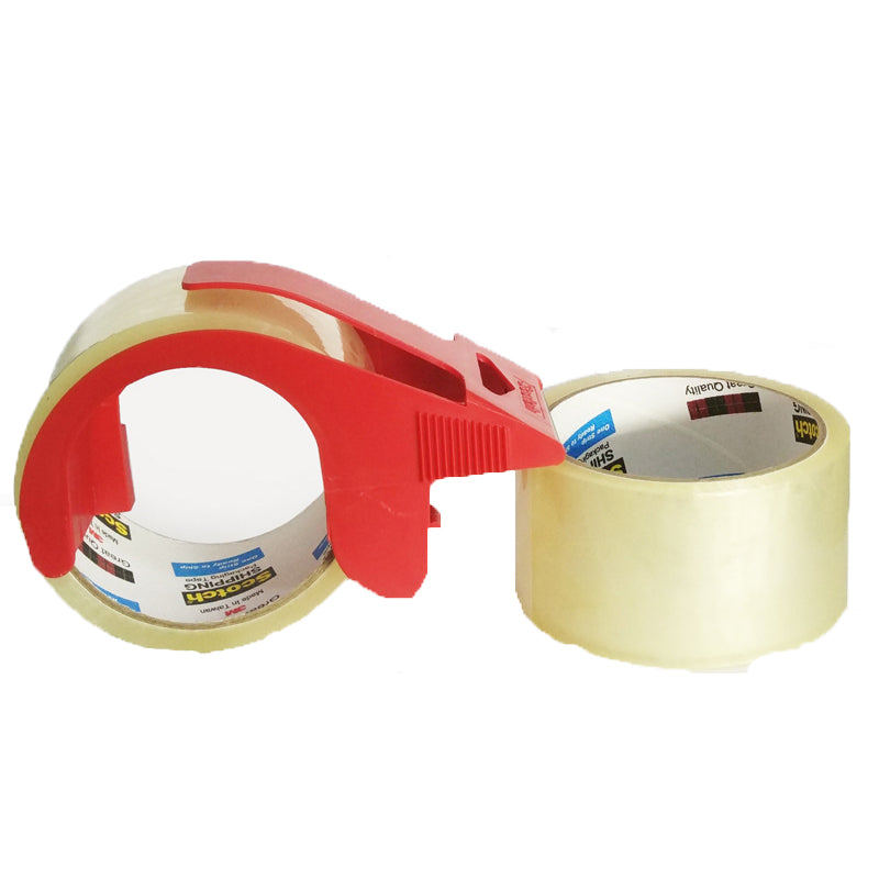 Shipping Packaging Tape-2 Rolls and 1 Dispenser