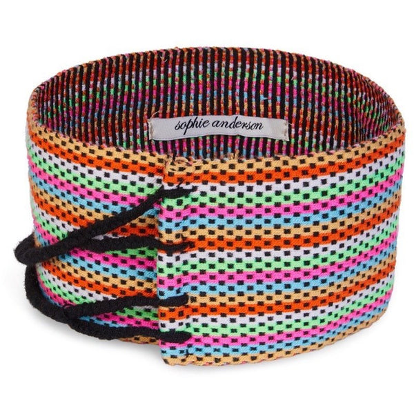 Beth Wide Hand Loomed Waist Band - Sophie Anderson - Luxury Designer Bags - Artisan Women's Bags
