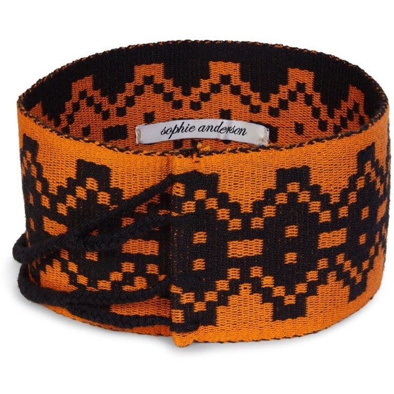 Beth Wide Hand Loomed Waist Band