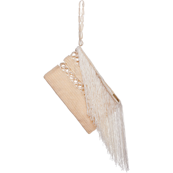 Carnival Fringed Clutch
