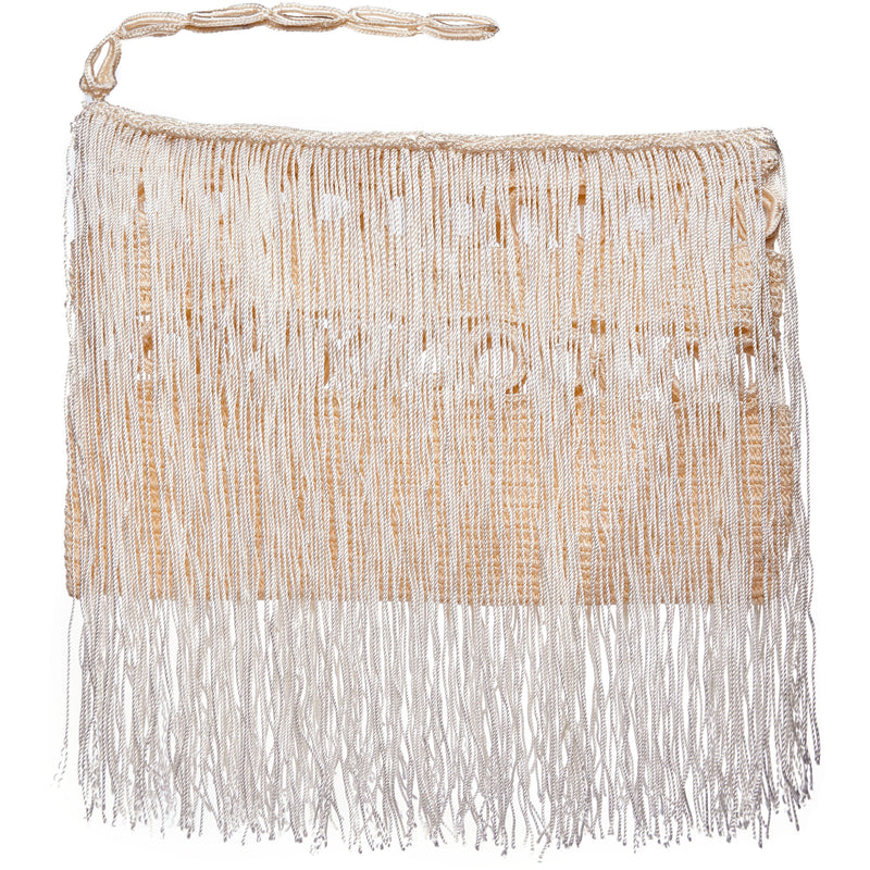 Carnival Fringed Clutch with Wrist Strap - Sophie Anderson
