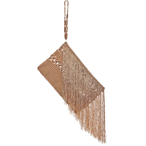Carnival Fringed Clutch with Wrist Strap - Sophie Anderson - Luxury Designer Bags - Artisan Women's Bags