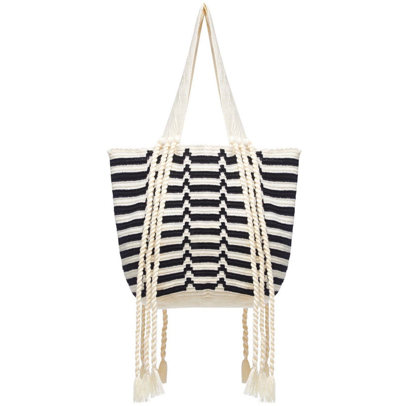 Black & White Frida - Online Exclusive - Sophie Anderson - Luxury Designer Bags - Artisan Women's Bags