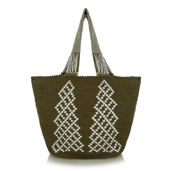 Olive & Ice Grace - Exclusive - Sophie Anderson - Luxury Designer Bags - Artisan Women's Bags