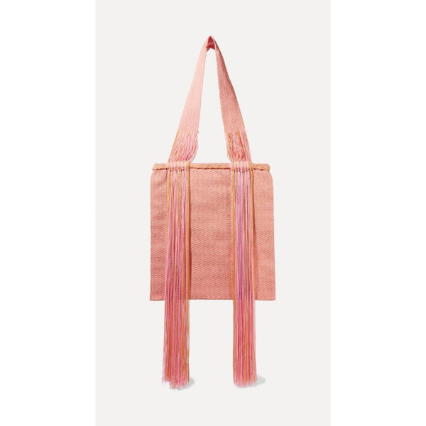 Joss fringed woven tote - Sophie Anderson - Luxury Designer Bags - Artisan Women's Bags