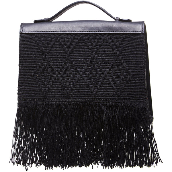 Dua Fringed Mini Bag - Sophie Anderson - Luxury Designer Bags - Artisan Women's Bags