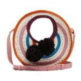 Women's Perla Mini Circle Raffia Cross Body Bag - Sophie Anderson - Luxury Designer Bags - Artisan Women's Bags