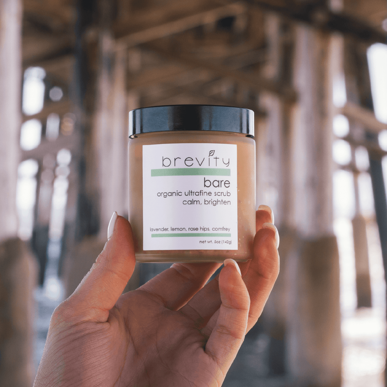 bare | organic ultrafine scrub - calm and brighten