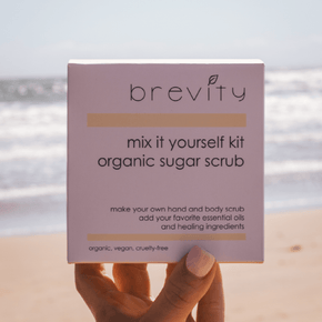 mix it yourself | organic sugar scrub