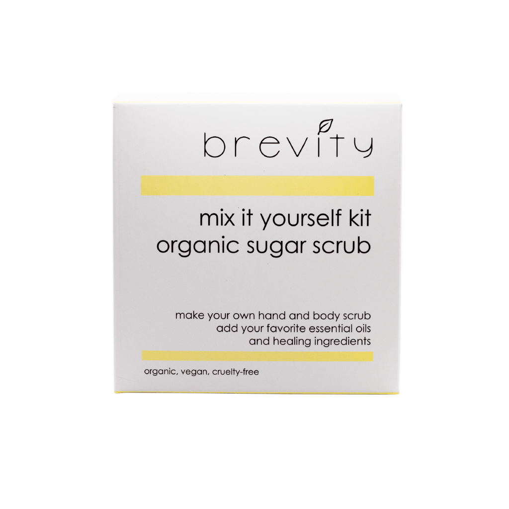 mix it yourself | organic sugar scrub Brevity