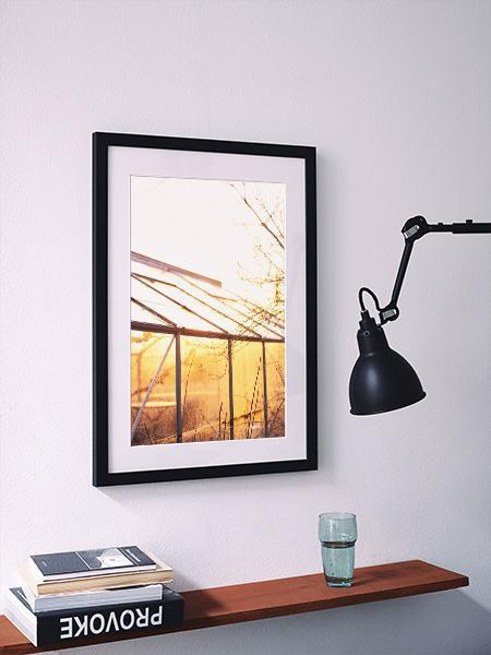 GLASS HOUSE-Print to Wall