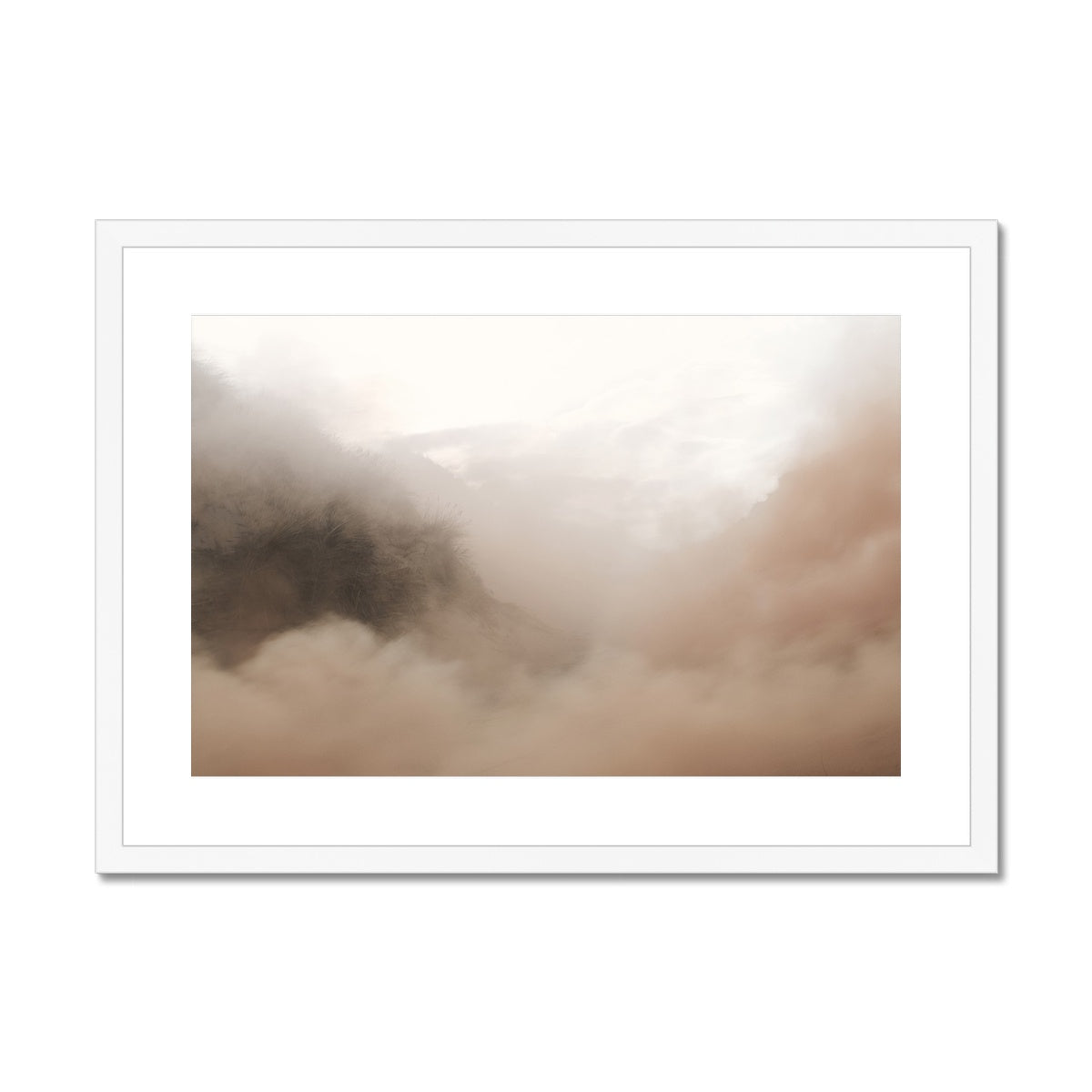 PINK SMOKE - Print to Wall