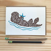 Sea Otter Card - Alice Frost Studio