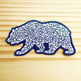 Grizzly Bear Sticker - Alice Frost Studio