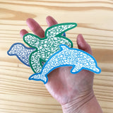 Ocean Life Sticker Set - Alice Frost Studio